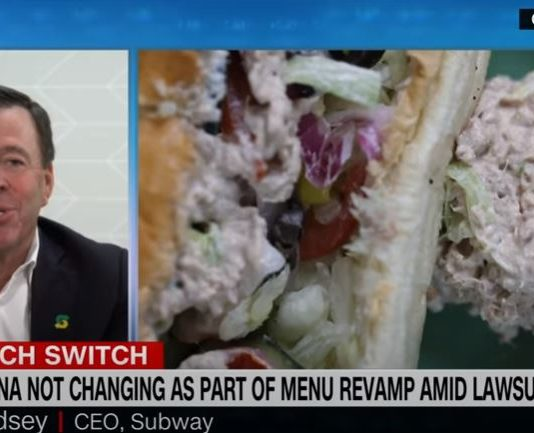 Subway CEO on menu changes: The one thing we did not touch is our tuna