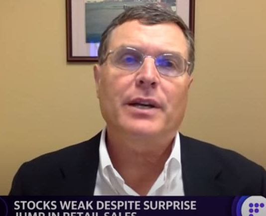 There's a chance the market could have a pullback that could go down 15-10%: Miller Tabak's Maley