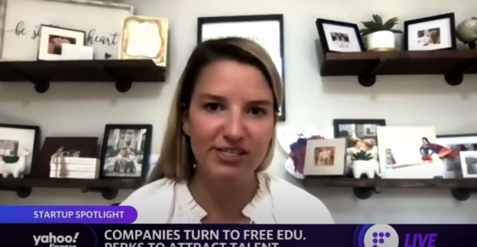This startup helps employers retain workers with free education incentives