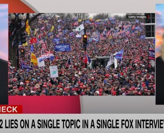 Trump just told 12 lies about January 6 on Fox News