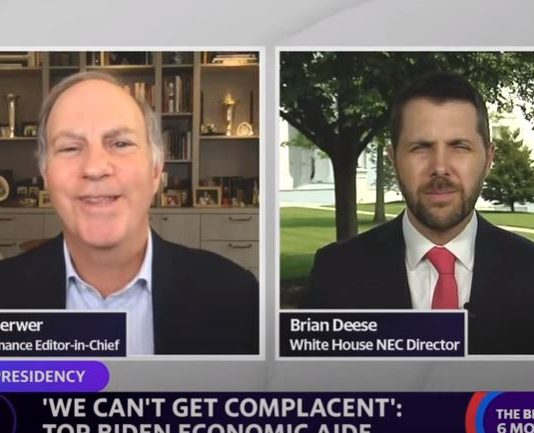 WH Director of the National Economic Council Brian Deese: Growth should be 'from the bottom up