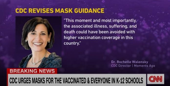 Why do vaccinated people need to mask? See Gupta's answer