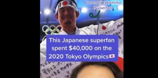 Would you spend $40,000 on the #Olympics? This superfan from Japan did