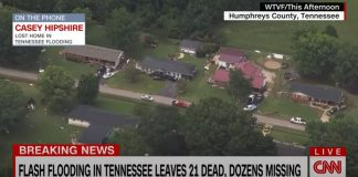 'A lot of heartache': Woman who lost home in Tennessee flooding describes destruction