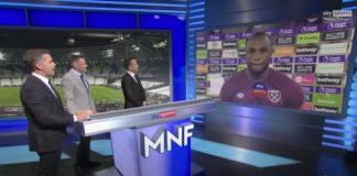Antonio explains cut-out celeb in hilarious post-match interview!