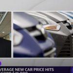 Average new car price hits record $41,000