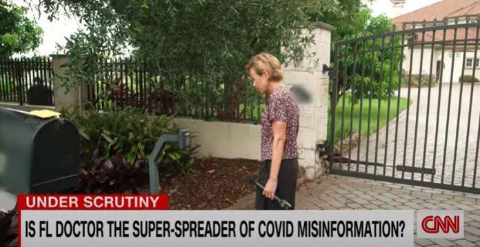 CNN tracks down a super-spreader of Covid-19 misinformation