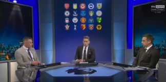 Carragher & Neville bicker during their 2021/22 Premier League predictions!   MNF