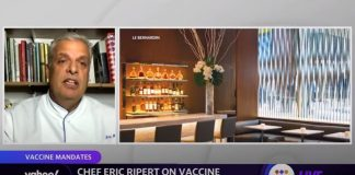 Chef Eric Ripert on NYC requiring proof of vaccinations: 'It's not an easy decision to take'