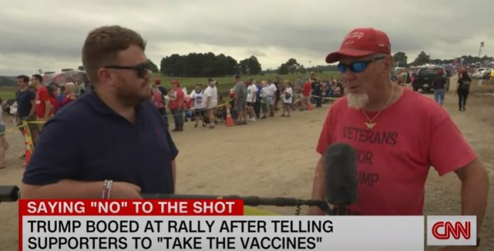 'God is separating the sheep from the goats': Trump supporter on why she remains unvaccinated