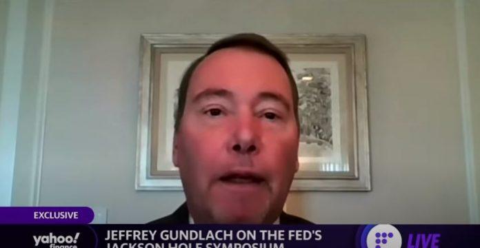 Gundlach on the Fed and stimulus: When party ends...the hangover is a sharp drop in economic growth