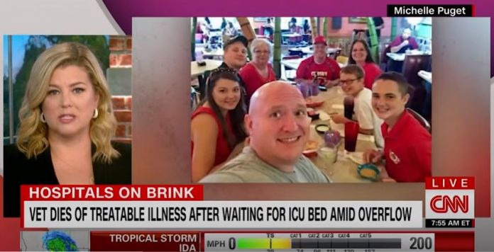 Purple Heart recipient dies of treatable illness waiting for ICU bed