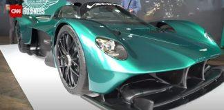 See Aston Martin's F1-inspired Valkryie Spider hypercar