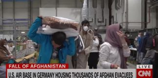 See inside US air base preparing Afghans for new life in America
