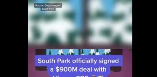 'South Park' signs a $900 million deal with ViacomCBS