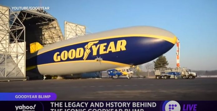 Take a ride inside the Goodyear Blimp, plus a look at the legacy and history of the iconic ride