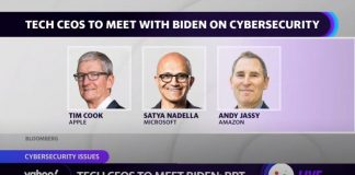 Tech CEOs of Apple, Microsoft, and Amazon to meet with President Biden