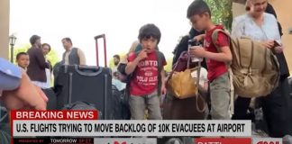 'That was a newborn baby': CNN reporter reveals dire situation at airport