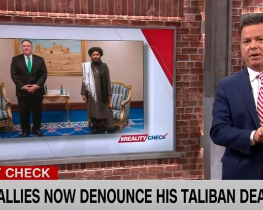 Trump's allies are now denouncing his Taliban deal