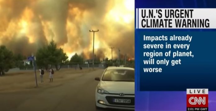 UN releases landmark report on climate as wildfires rage