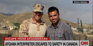 US veteran describes challenges Afghan interpreter faced escaping to safety