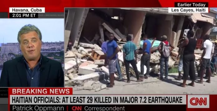 Video shows aftermath of 7.5-magnitude Haiti earthquake