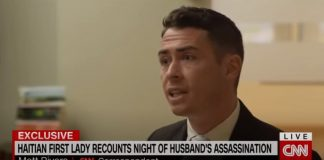 Wife of assassinated president describes brutal attack