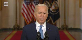 Biden speaks after US withdrawal from Afghanistan