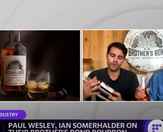 Building a brand of bourbon amid a pandemic with Paul Wesley and Ian Somerhalder