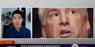 Fed's Eric Rosengren announces September 30 retirement after trading scandal