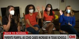 'I'm sending her to a warzone': Mother attacks Texas' mask mandate bans