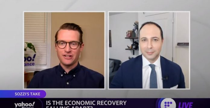 Is the economic recovery falling apart amid concerns over the Delta variant?
