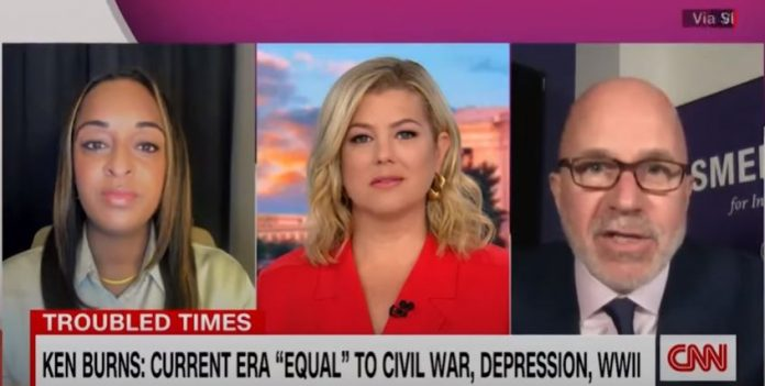 Ken Burns gives dark comparisons for America's current crises