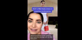 Met Gala 2021: AOC's 'Tax the Rich' dress creates firestorm of controversy