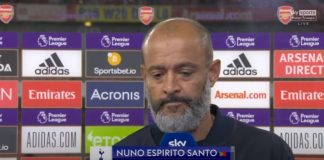 """""""The performance and game plan were not good""""   Nuno gives honest assessment of NLD defeat"""