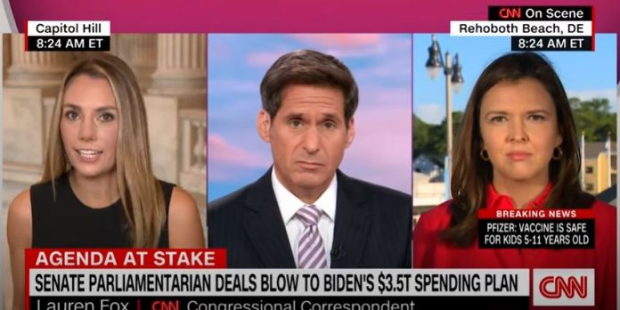 Senate parliamentarian deals blow to Biden's plan