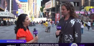 'We need you, you need us': Constantine Maroulis on Broadway's big reopening
