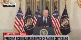 Biden rips GOP for not voting to raise debt limit
