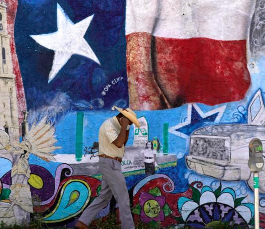 Redrawn Texas Maps