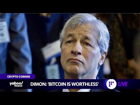 Jamie Dimon slams bitcoin, plus Shiba Inu cryptocurrency jumps rises 385% in one week