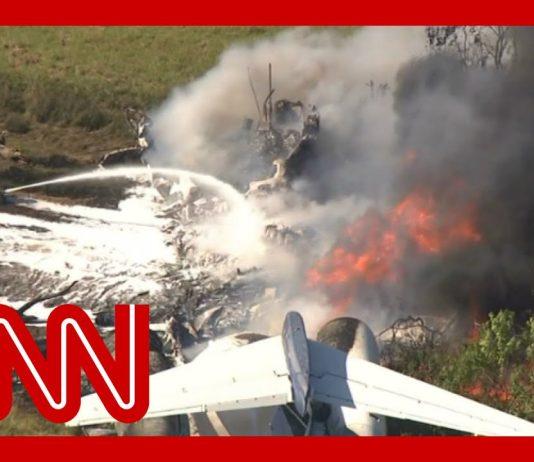 All passengers survive plane crash in Texas
