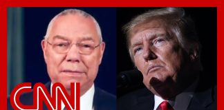 Trump rages against outpouring of love for Colin Powell