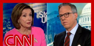 Tapper to Pelosi: Are you frustrated with Sinema and Manchin?