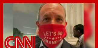 Congressman wears mask on House floor with not-so-secret message