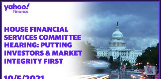 LIVE: House Financial Services Committee hearing: Putting Investors and Market Integrity First