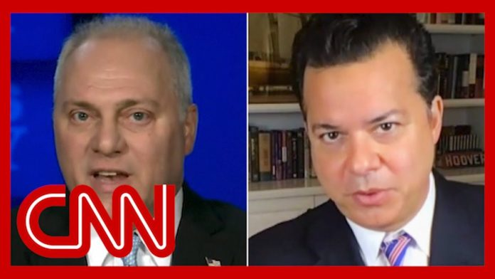 'Disgusting, pathetic': Avlon reacts to Scalise moment from Fox News interview