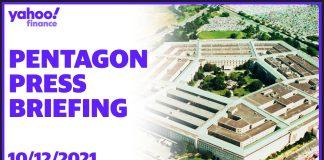Pentagon holds press briefing