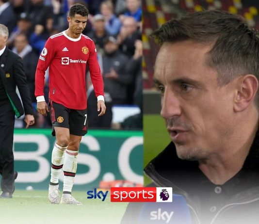 """The performances are nowhere near good enough!""   Neville blasts Man Utd's recent performances"