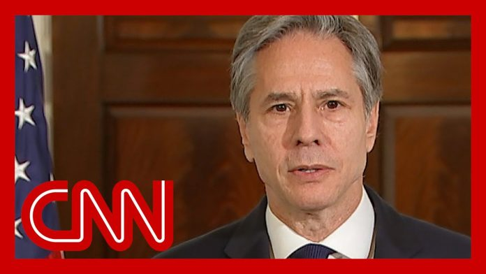 Watch Secretary of State Blinken respond to death of Colin Powell